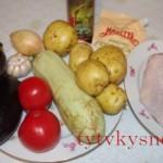 Как приготовить овощное рагу с курицей.