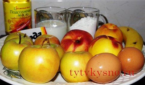 фрукты в кляре