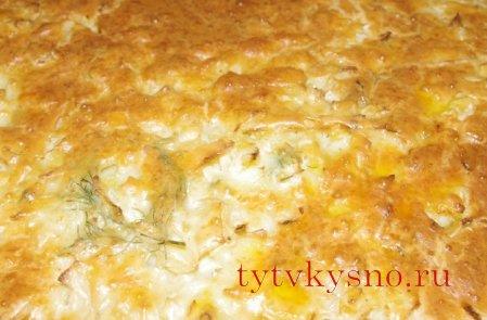 заливной пирог  Необычный вкус пирога
