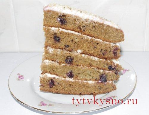 "Торт ""Смородинка"" фото"