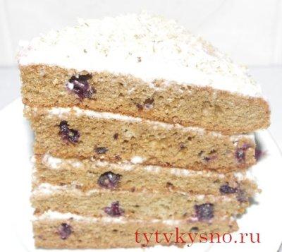 """Торт """"Смородинка"""" красивый вкусный торт"""