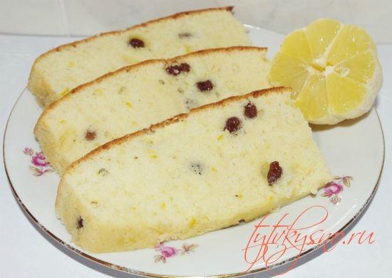 легкий пошаговый фото рецепт Лимонного кекса