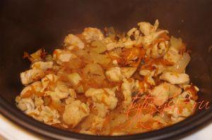 Плов в мультиварке с филе курицы рецепты