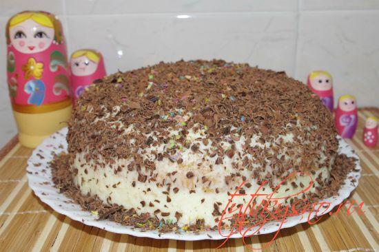 Птичье молоко на манке торт рецепт видео