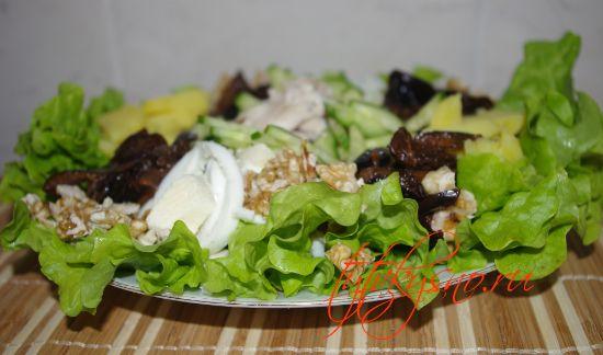 простой и вкусный салат для мужчин