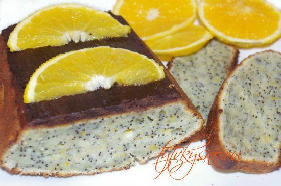 Творожный кекс с маком. Рецепт с фото.