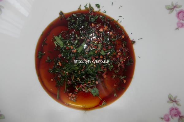 Маринад для рыбы. Рецепт: запеченная в листьях капусты рыба.