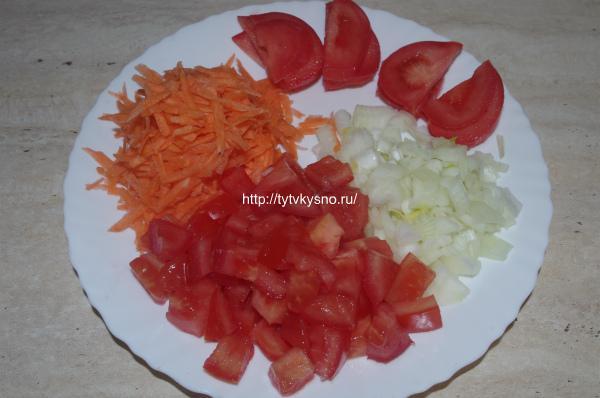 Подготовка овощей. Рецепт: запеченная в листьях капусты рыба.