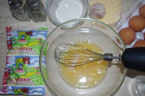 заливка для рецепта: Запеканка из цветной капусты с курицей от ТутВкусно.ру