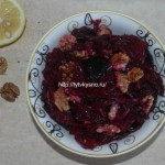 Салаты из свеклы постные, простые и вкусные рецепты