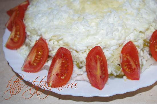 рецепт вкусного и простого салата с мясом