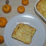 Запеканка из творога с морковью и грушей рецепт с фото