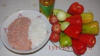 Как приготовить перец фаршированный.