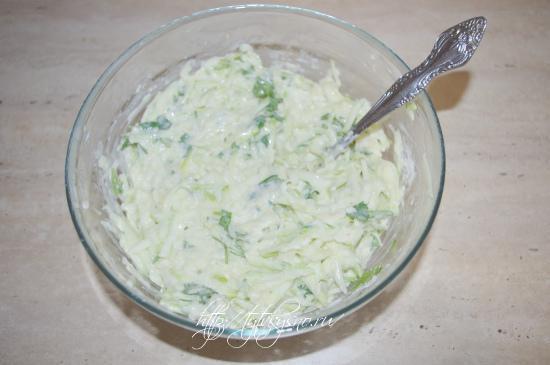 тесто для рецепта: кабачковые оладьи рецепт с сыром и чесноком