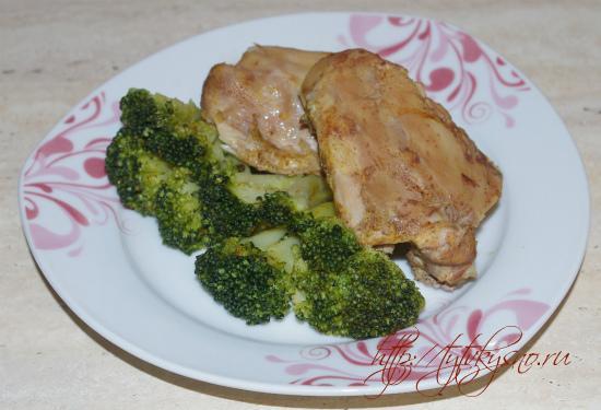 диетическое блюдо курица в собственном соку в мультиварке