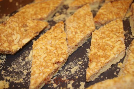 пирог из тертого теста фото
