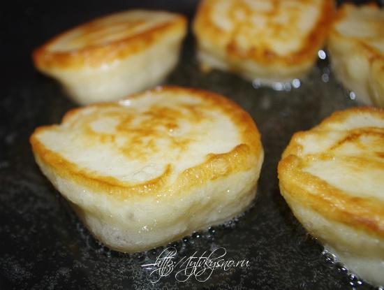 пышные оладьи на кефире очень простой и вкусный рецепт