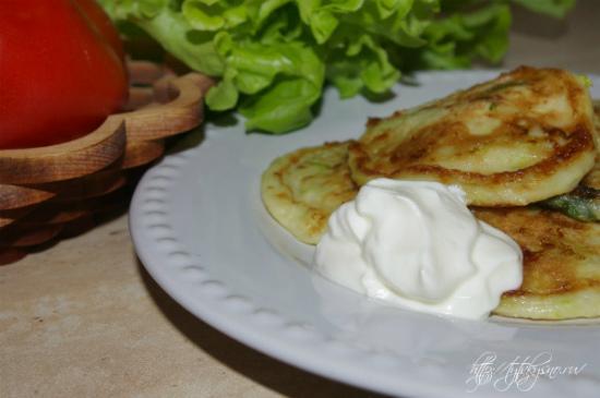 оладьи из кабачков с сыром и чесноком самый вкусный рецепт