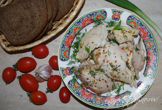 приготовление в мультиварке целой курицы