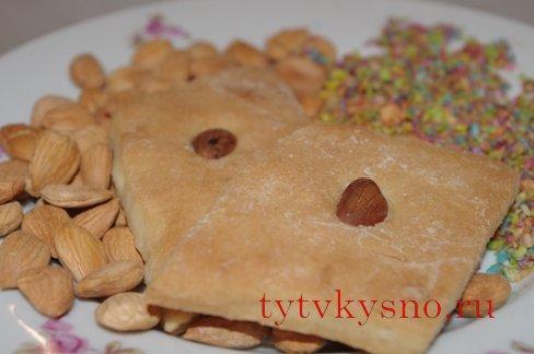 вкусное постное печенье на рассоле фото