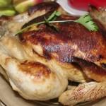 Курица, запеченная в мультиварке целиком, рецепт с фото