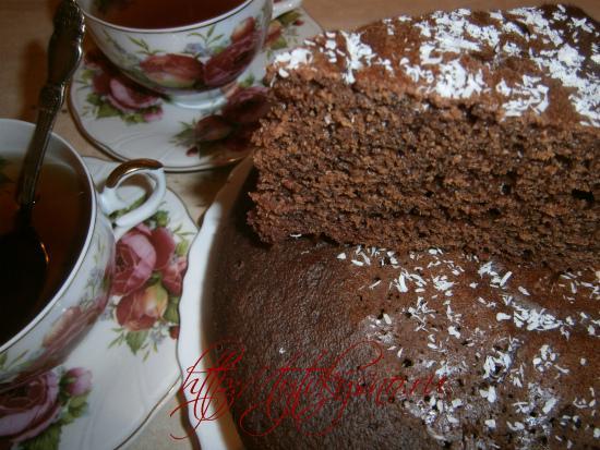 фото видео рецепт шоколадного манника