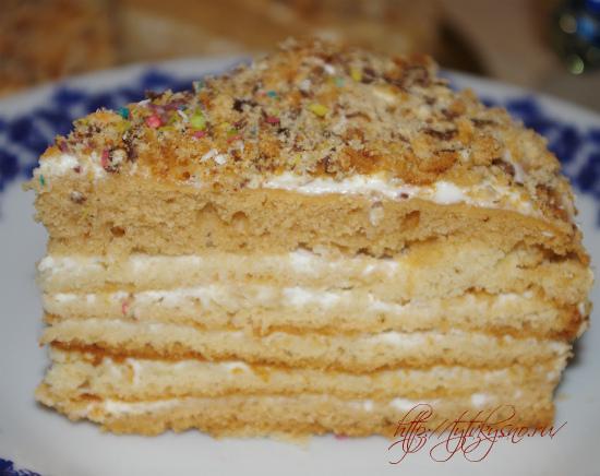 простой, легкий торт в домашних условиях фото