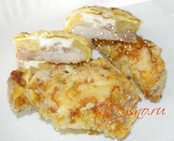 1. Горячее блюдо на новогодний праздничный стол из свинины