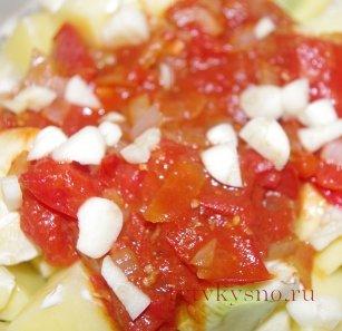 фото: Как приготовить овощное рагу с курицей.