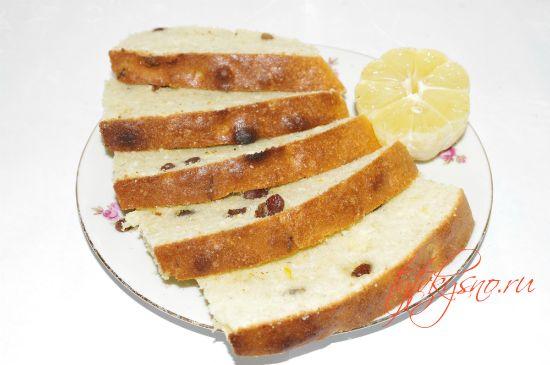 вкусный классический рецепт  Лимонный кекс.