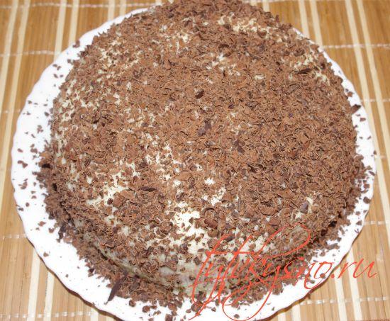 """Торт """"Птичье молоко"""" с манкой Украшаем торт"""