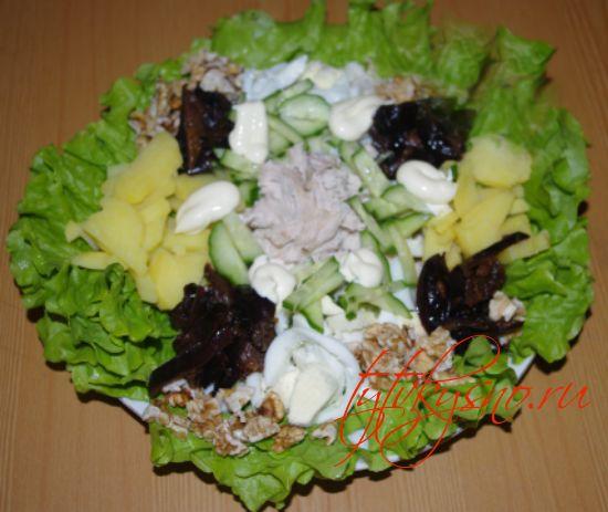 """Салат """"Для мужчин"""" простой,но вкусный"""