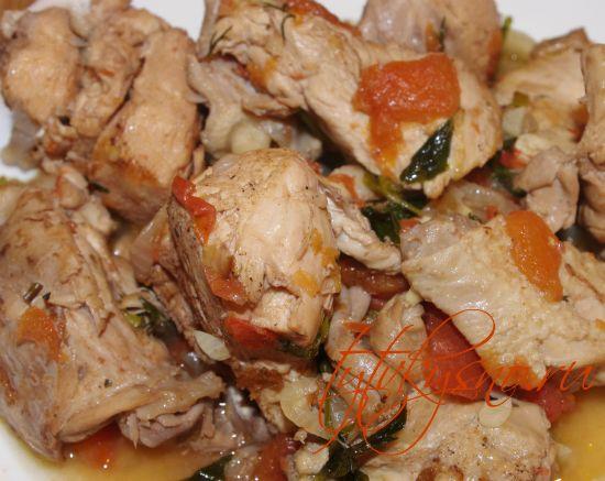 Чахохбили из курицы в мультиварке самый лучший рецепт от ТутВкусно