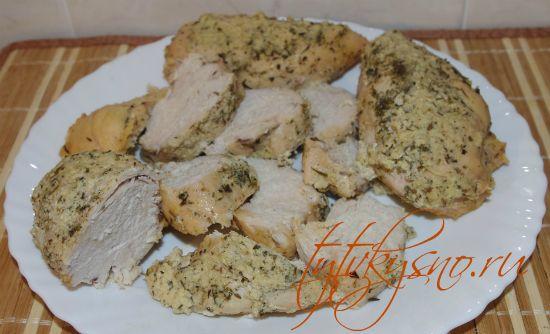 рецепт:Курица в кефире с травами- вкусная курица в кефире с прованскими травами в мультиварке