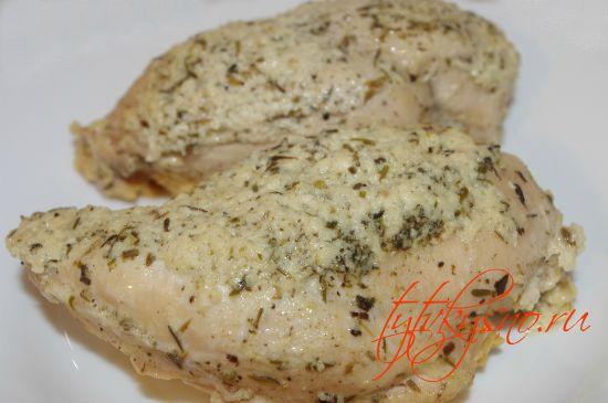 простой и быстрый рецепт: Курица в кефире с травами