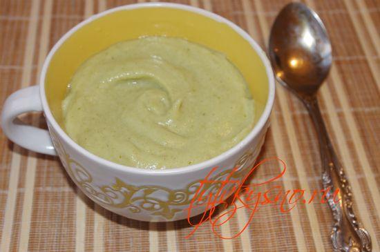 рецепт пошагово суп пюре с брокколи