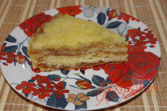 Рецепт с фото венгерский насыпной яблочный пирог