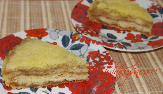 Венгерский насыпной яблочный пирог как готовить рецепт с фото