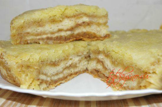 Венгерский насыпной яблочный пирог быстрый рецепт с фото