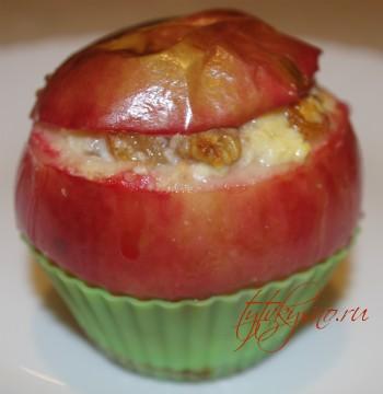 Сколько времени запекать яблоки