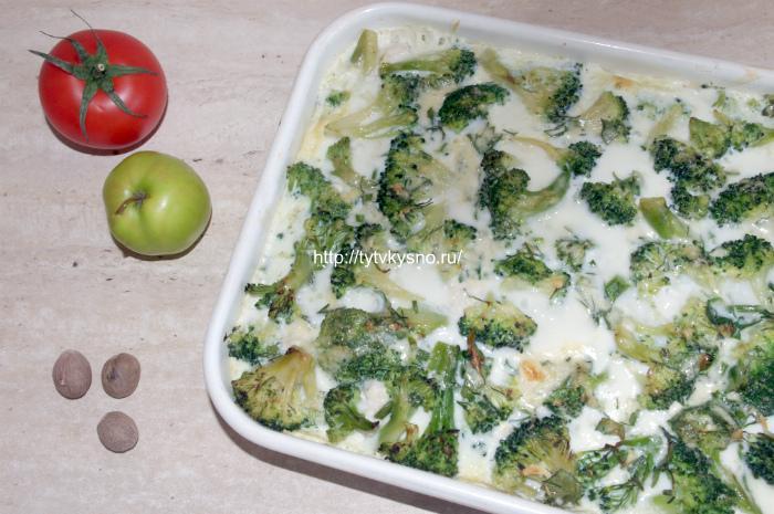 Запеканка из брокколи рецепт в духовке