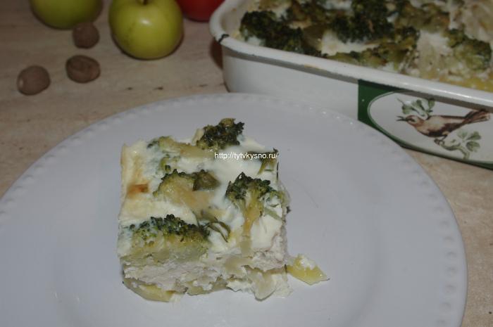 26 IMGP8484 вкусная запеканка в духовке