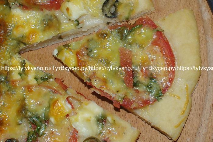 вкусная пицца сколько выпекается тут