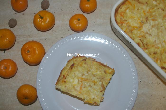 запеканка из творога с морковью вкуснейшая