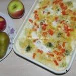 Запеканка из брокколи с пастой в духовке-нежная, сытная, готовится легко и быстро