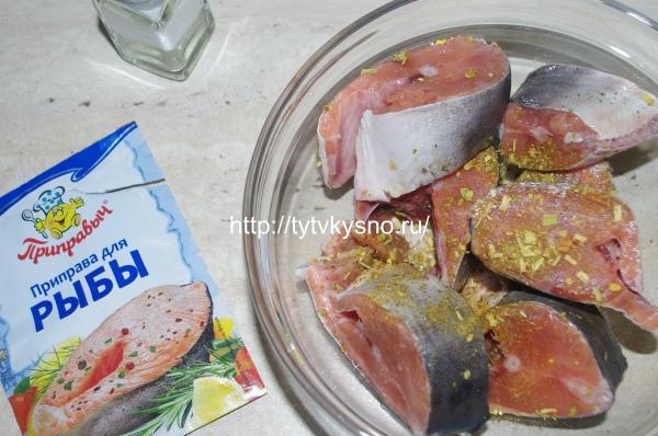 Рецепт горбуша в молоке