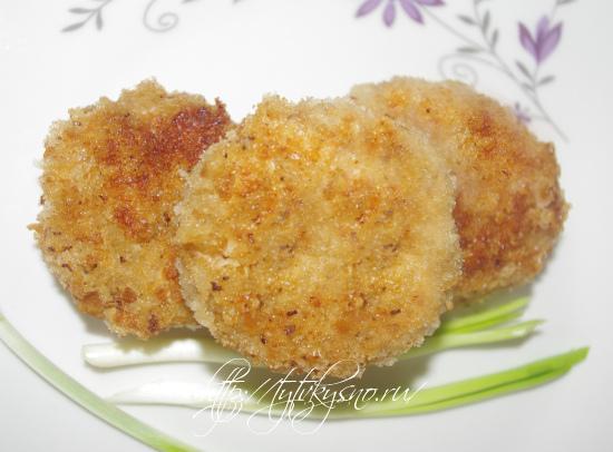 рецепт с фото вкусные котлеты из индейки с сыром и зеленью