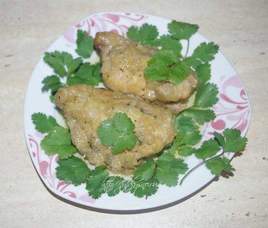 курица в луковом соусе с содой пошаговый фото рецеп