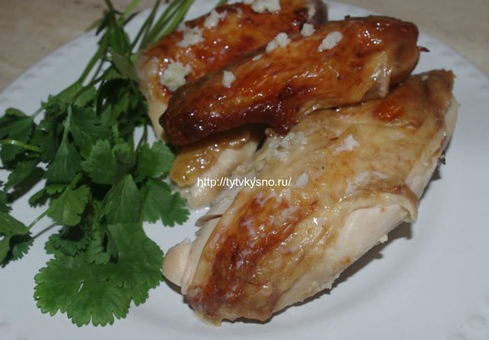 Приятного аппетита! Нежная, сочная курица в молоке по-грузински Шкмерули покорит вас своим вкусом.