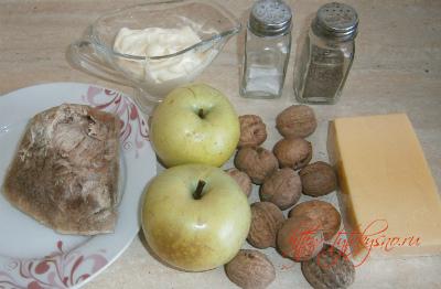 Ингредиенты для салата Каприз